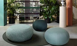 Geo Pouf Outdoor