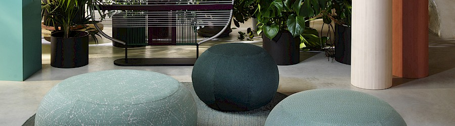 Image Geo Pouf Outdoor